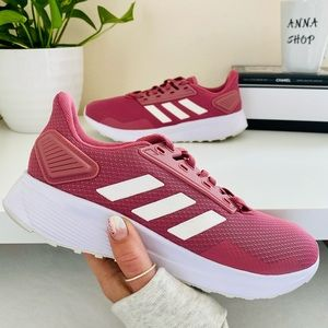 New Adidas Durango 9 maroon shoes